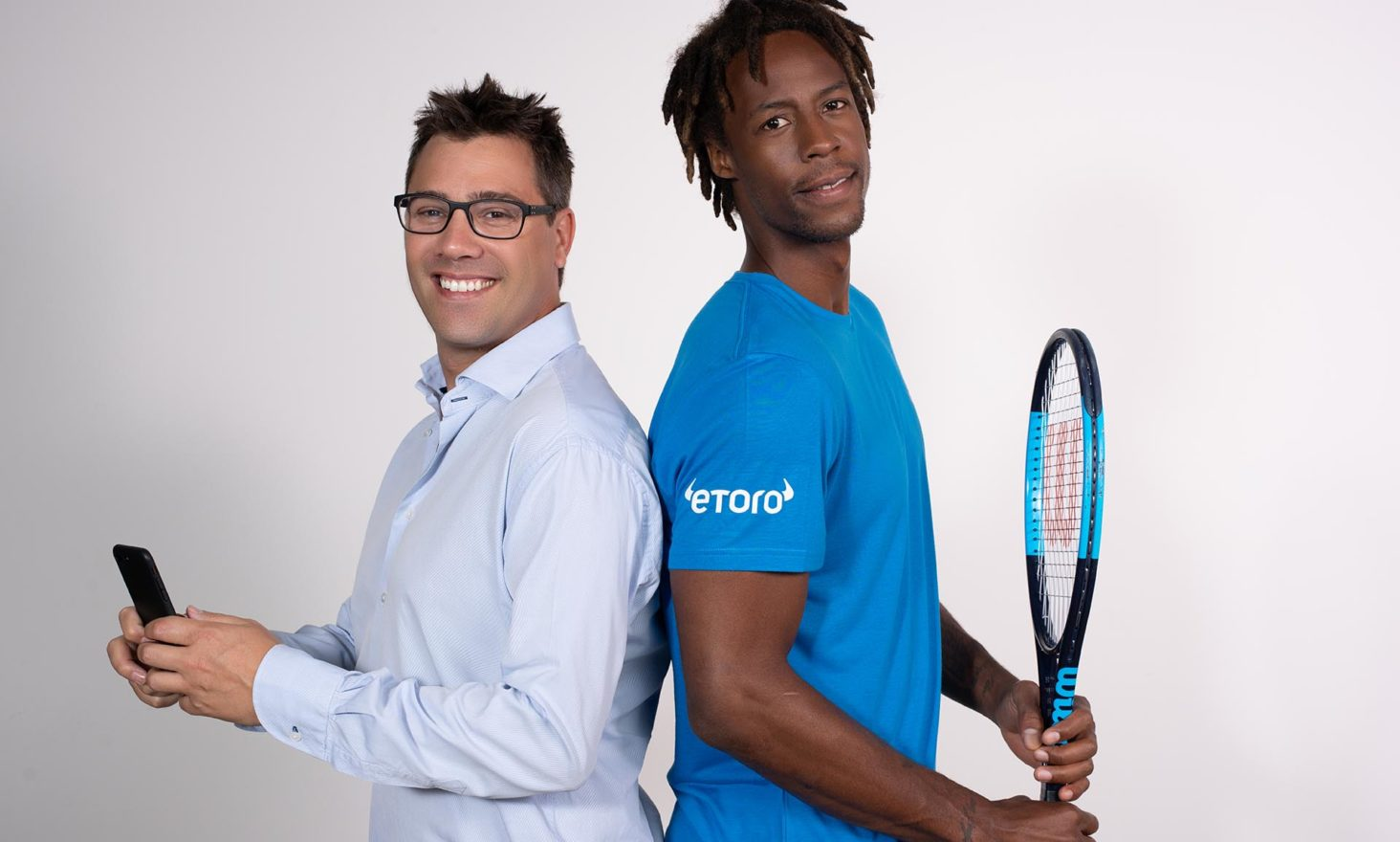 """Get Serious About Investing"" with eToro and Gael Monfils"