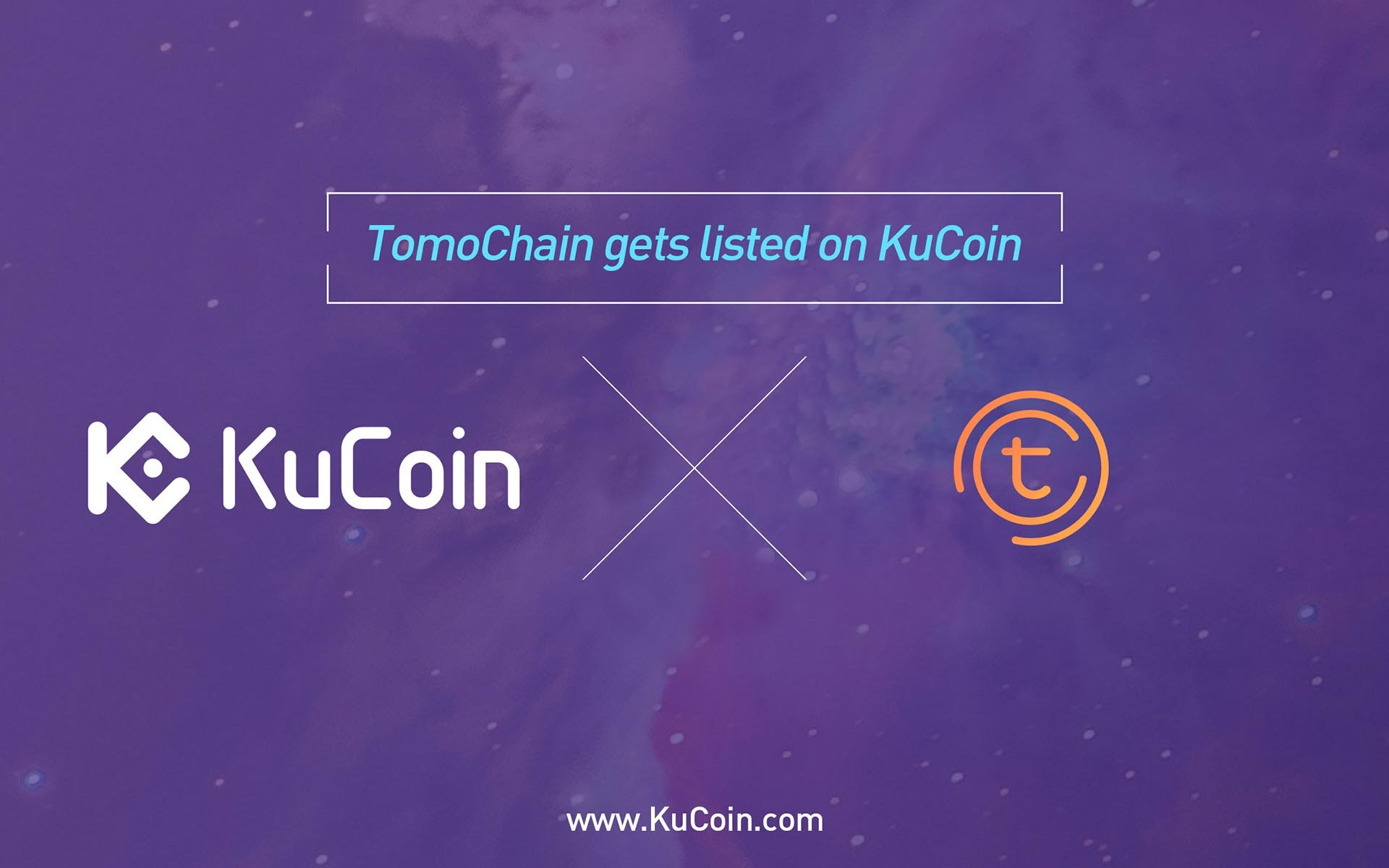 TomoChain (TOMO) Gets Listed on KuCoin!