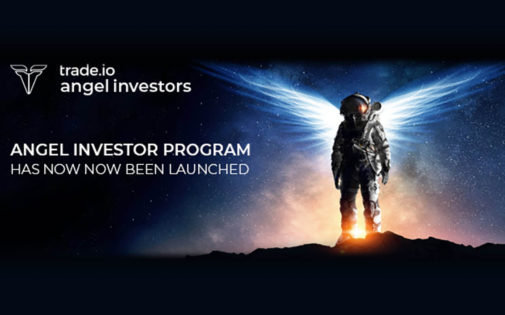 trade.io Launches Angel Investor Program & Has Over 300 Million USD For Potential Investment In trade.io Sponsored ICO Projects