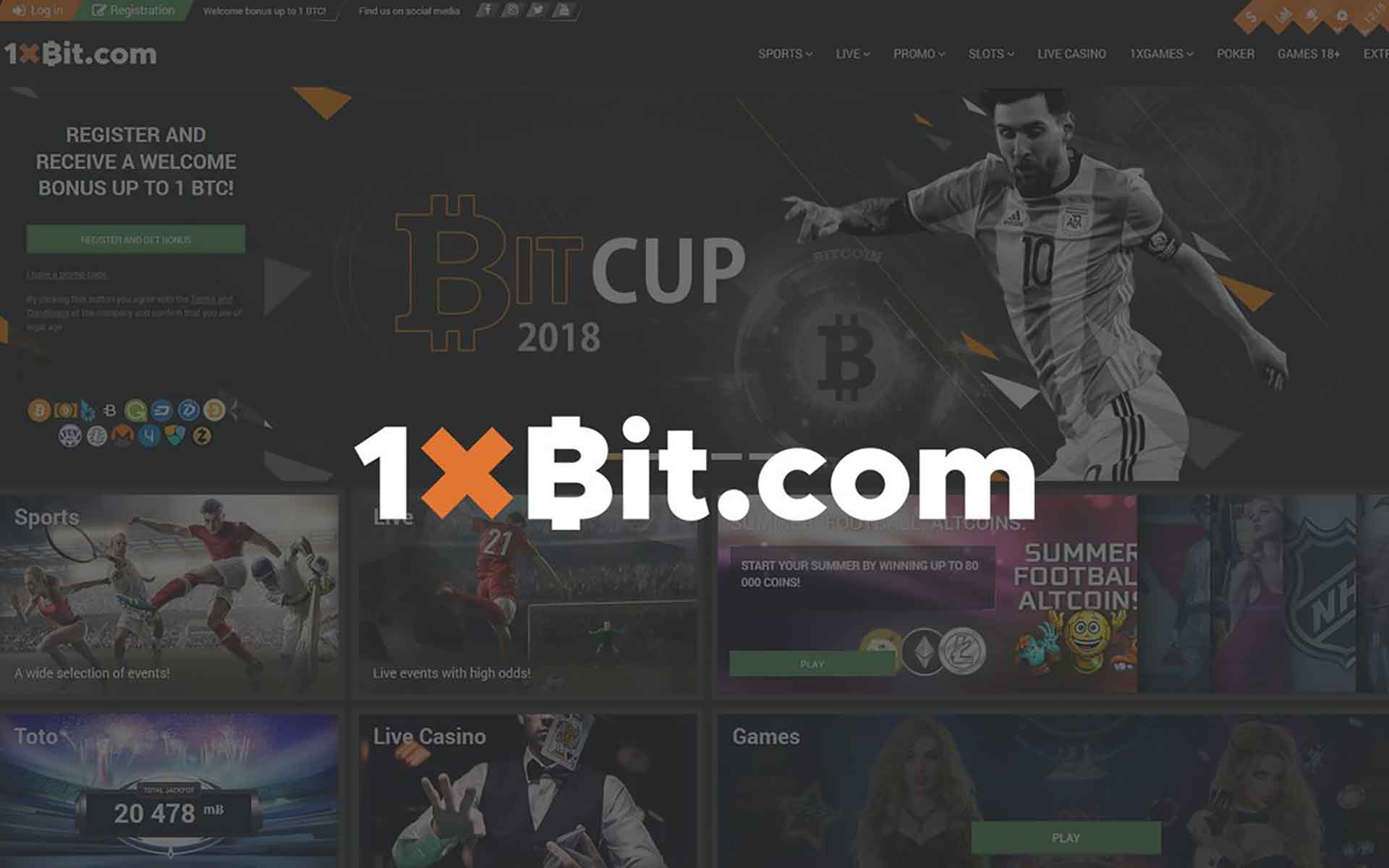 1xBit Launches World Cup Promotion