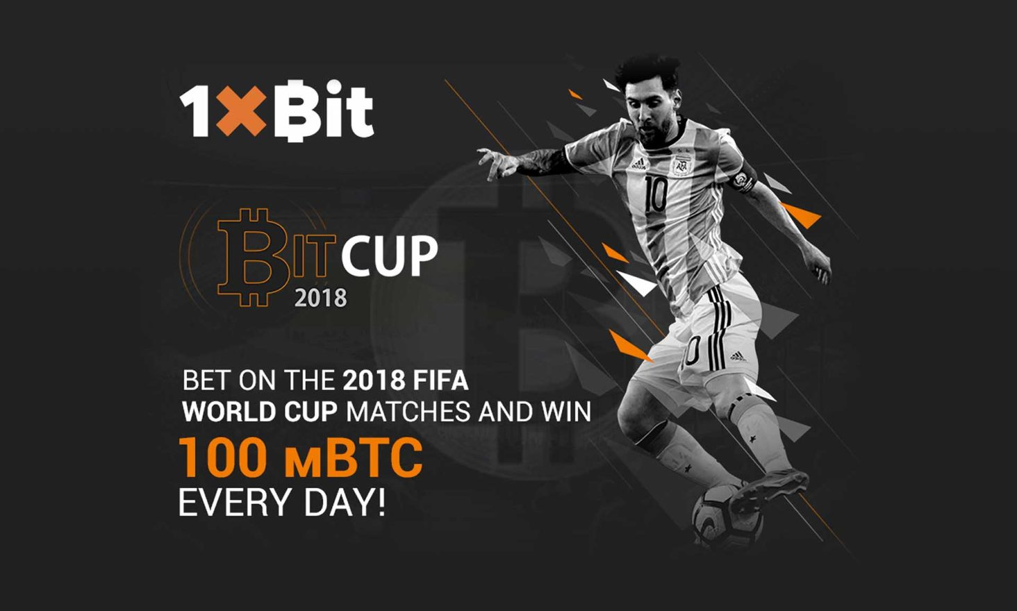 Everybody Can Take Advantage of the World Cup with 1xBit