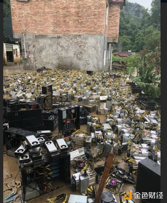 China Province Sichuan Sees Damaged Crypto Mining Operation Due to Floods