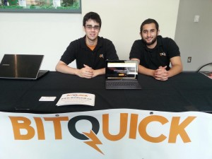 Bitquick Team, Chad Davis (left), Jad Mubaslat (right)