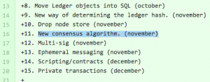 Early Stellar roadmap outlines building new consensus algorithm by November.