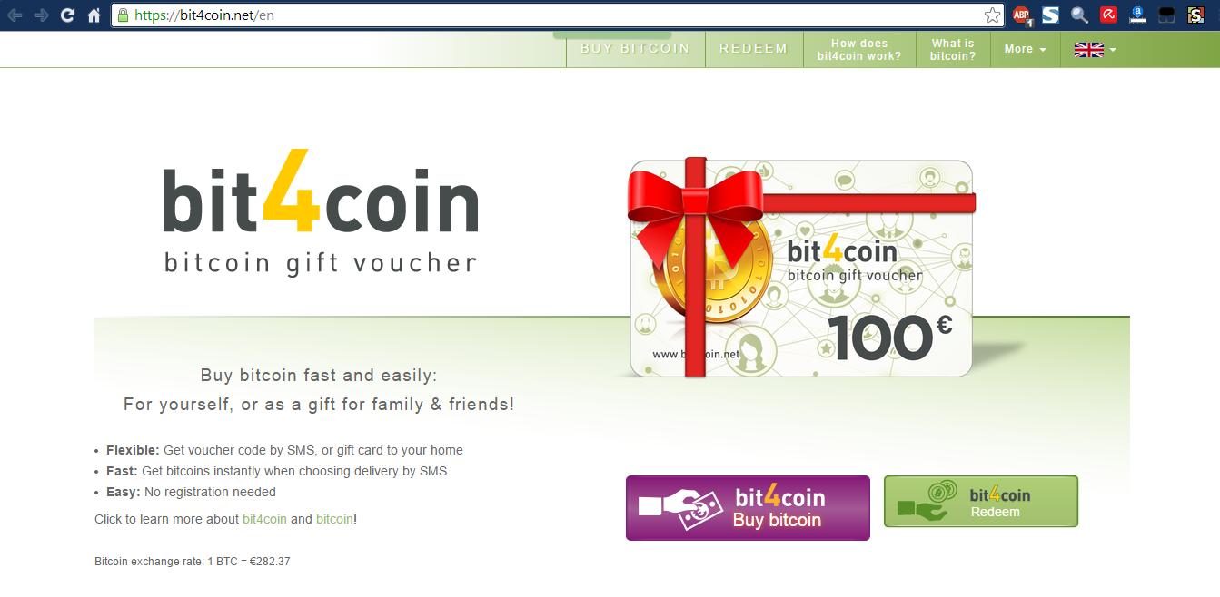 Bitcoin Voucher