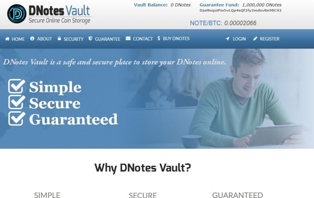 DNotes-Vault-Bitcoinist