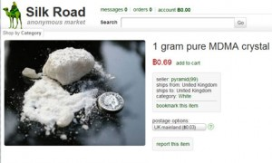 A typical listing on Silk Road