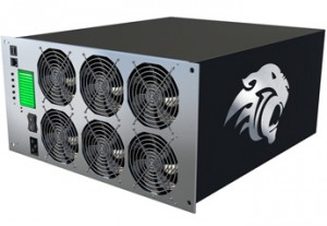 BitFury 3500BF Transaction Processor