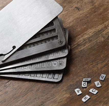 Cryptosteel Bitcoin wallet