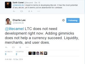 Bitcoinist_Charlie Lee Development