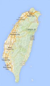 Bitcoinist_Taiwan Map