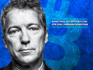Rand Paul Accepts Bitcoin for 2016 Campaign Donations