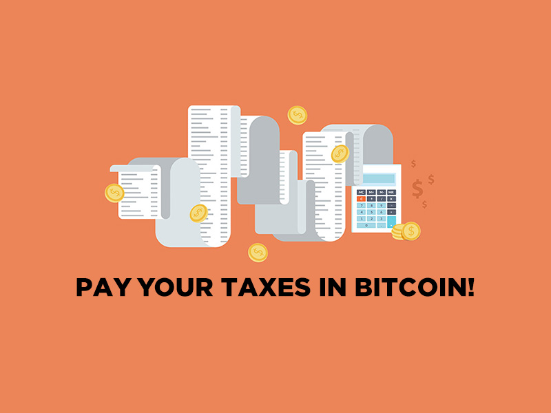 Paying taxes with Bitcoin