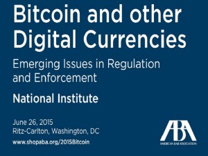 American Bar Association to Host Event on Bitcoin Regulation