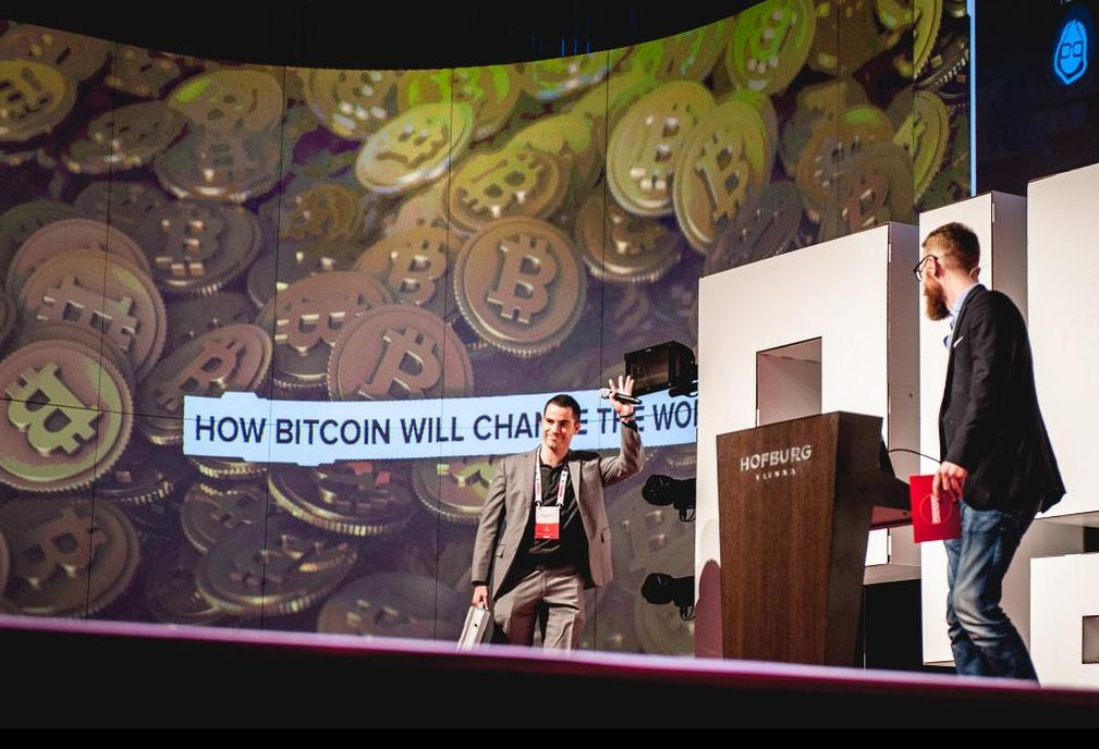 Bitcoin Jesus, Roger Ver at Pioneers Festival
