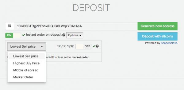 Vaultoro Instant Order_Bitcoinist
