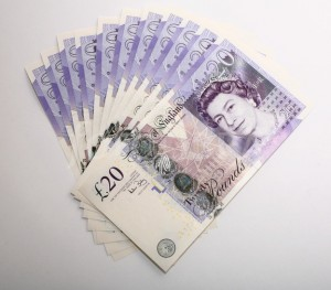Bitcoinist_20 GBP Note