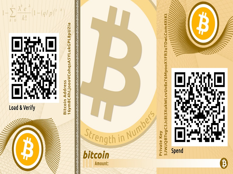 Bitcoinist_Bitcoin Paper wallet