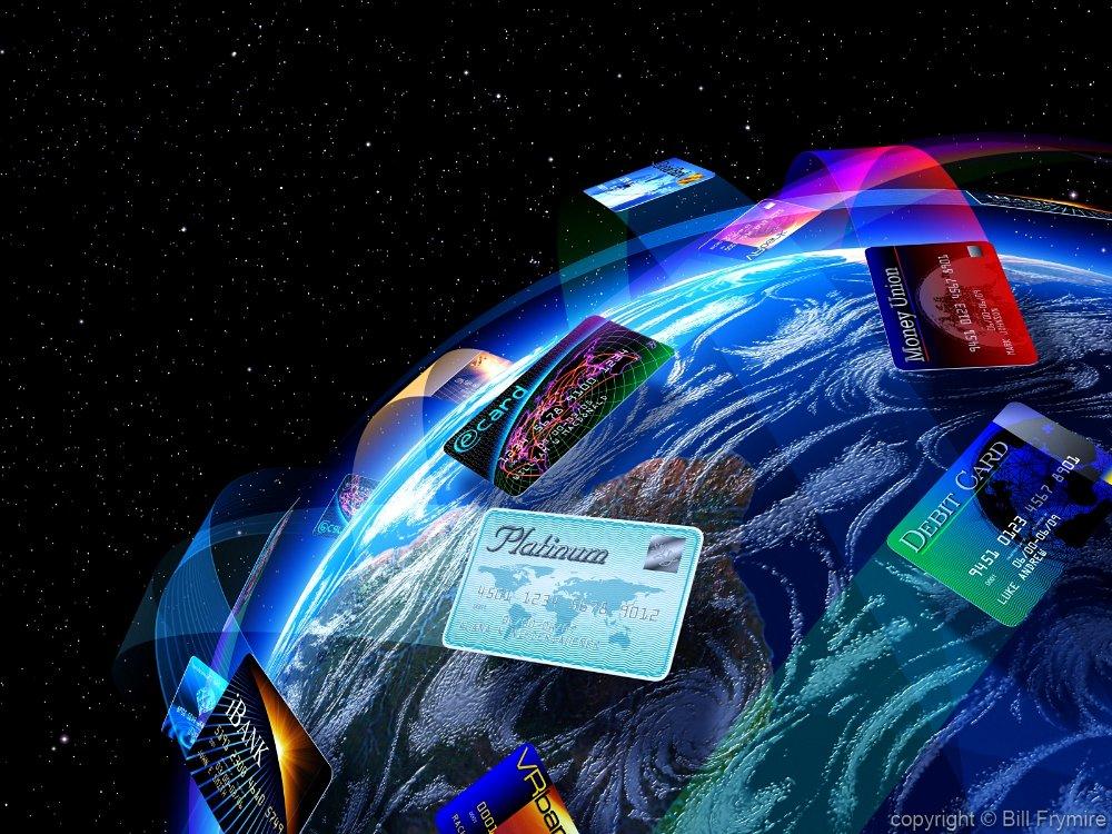 credit-cards-circling-globe-economy-global1