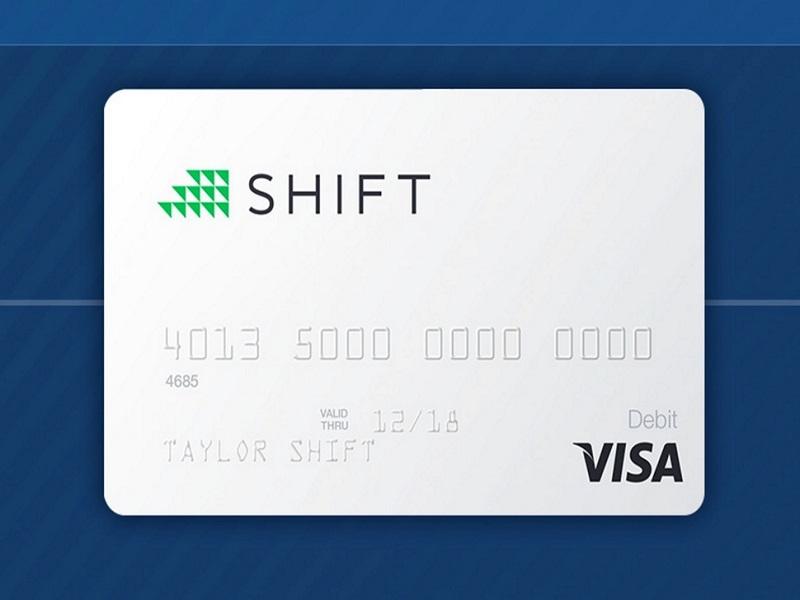 Shift debit card