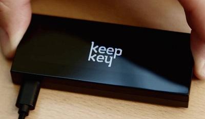 KeepKey hardware Bitcoin wallet