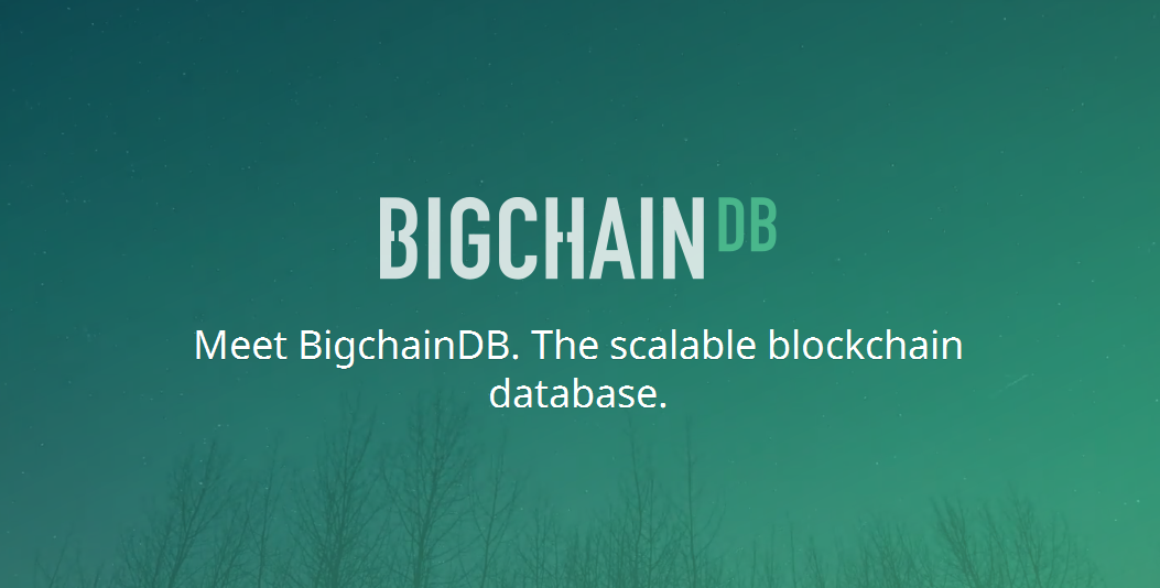 bigchaindb, blockchain database
