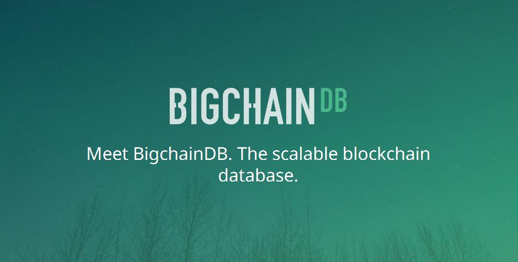 bigchaindb, blockchain database