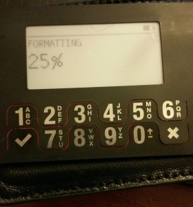 Wallet Creation Process Formatting BitLox