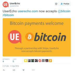 UserEcho Stripe