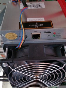 AntMiner S9 Front