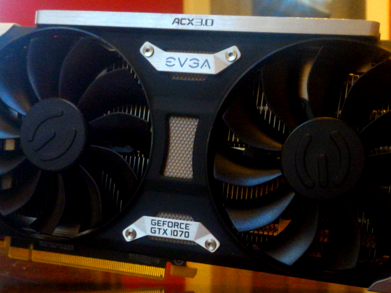 A Review of The EVGA GTX 1070 SC ACX 3 0
