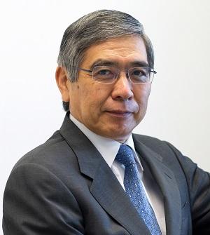 Governor Haruhiko Kuroda