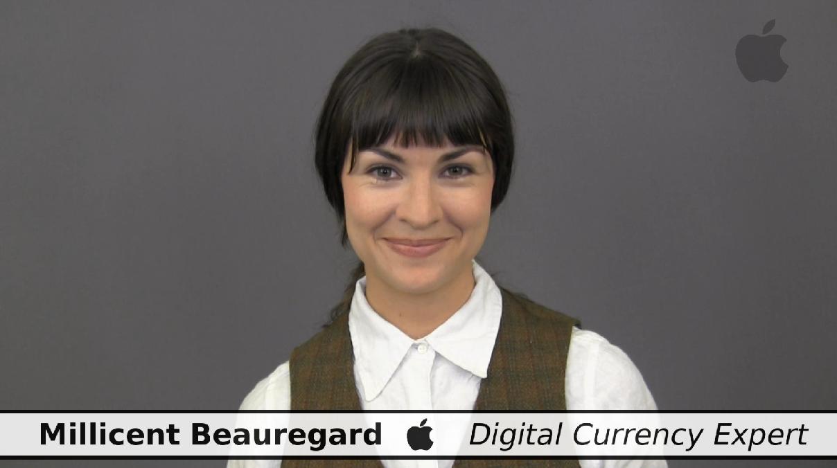 dash apple parody digital cash