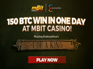 MBit Casino Hands Out $98K to Single Slot Player