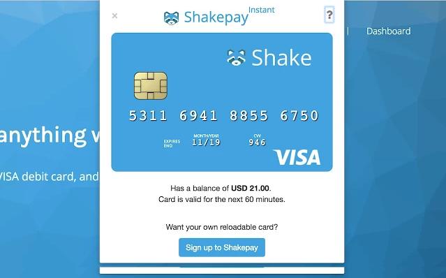Shakepay Instant screenshot