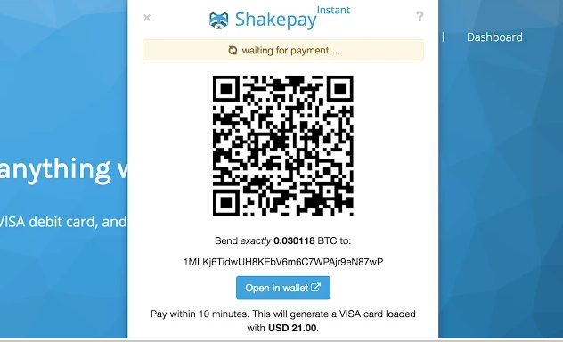 Shakepay Instant browser extension