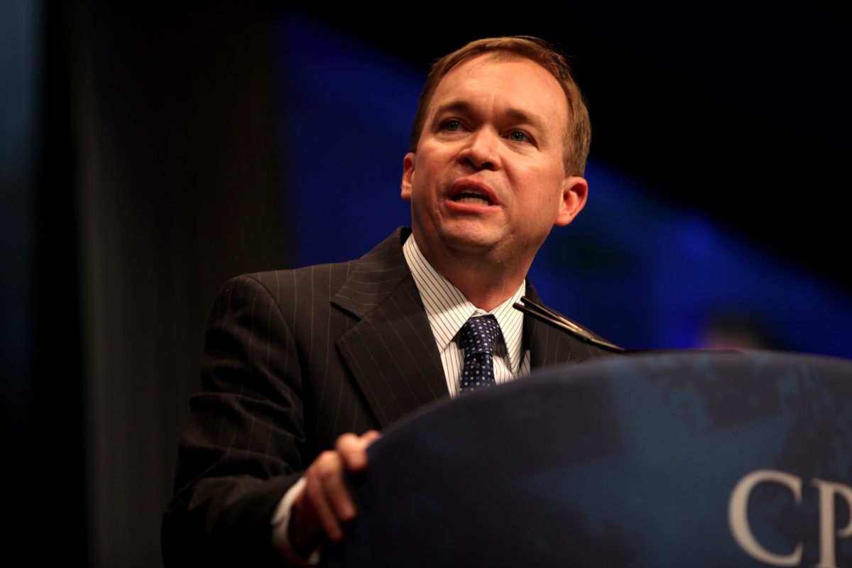 Mick Mulvaney tapped as Trump's acting chief of staff