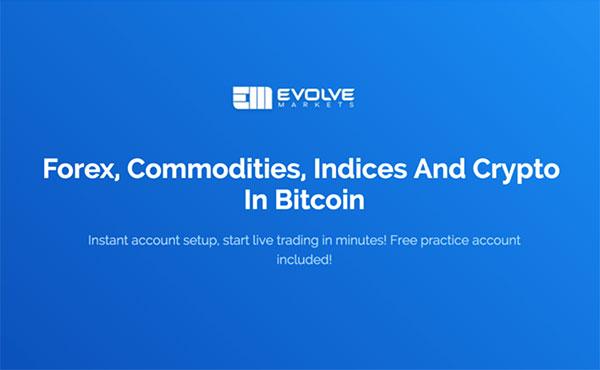 Evolve Markets trading platform