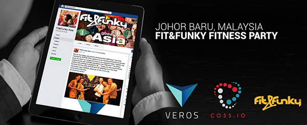 Fit&Funky Starts Selling Fitness Apparel for VEROS Cryptocurrency