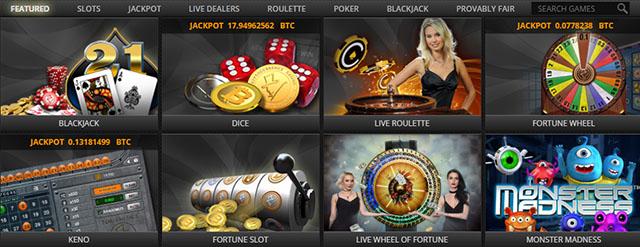 Fortunejack Games