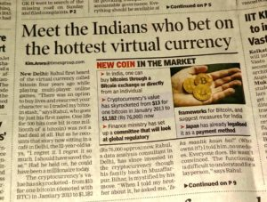 Demand for Bitcoin rises in India