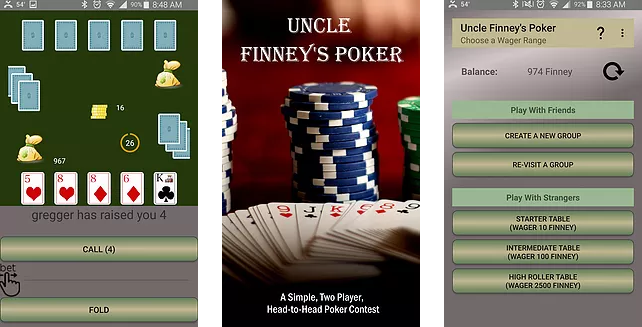 Uncle Finney's Poker