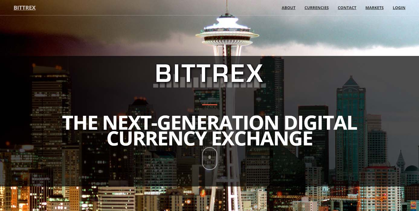 Bittrex altcoin exchange