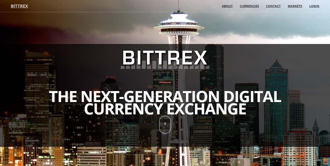 Bittrex altcoin exchange