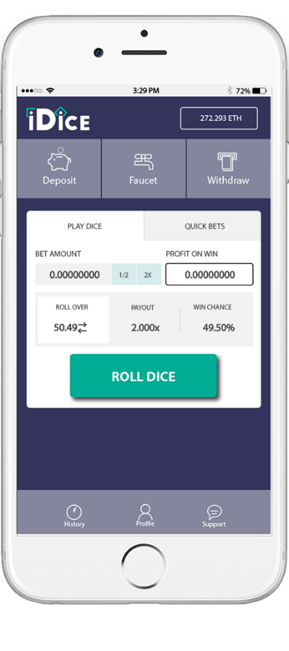 iDice Mobile App