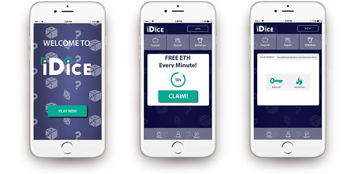 iDice mobile gaming app