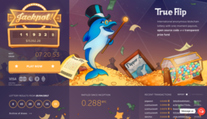 TrueFlip Lottery screenshot