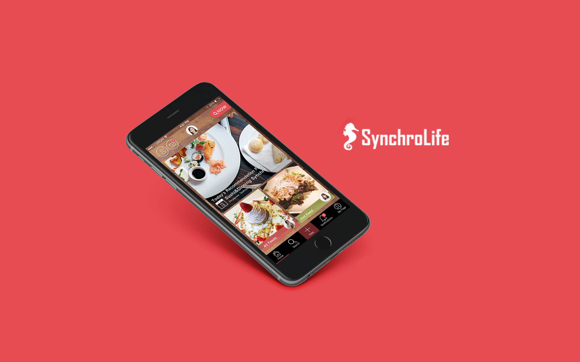 SynchroLife Announces Token Crowdsale to Develop the World's First Blockchain Based Decentralized Restaurant Recommendation Platform