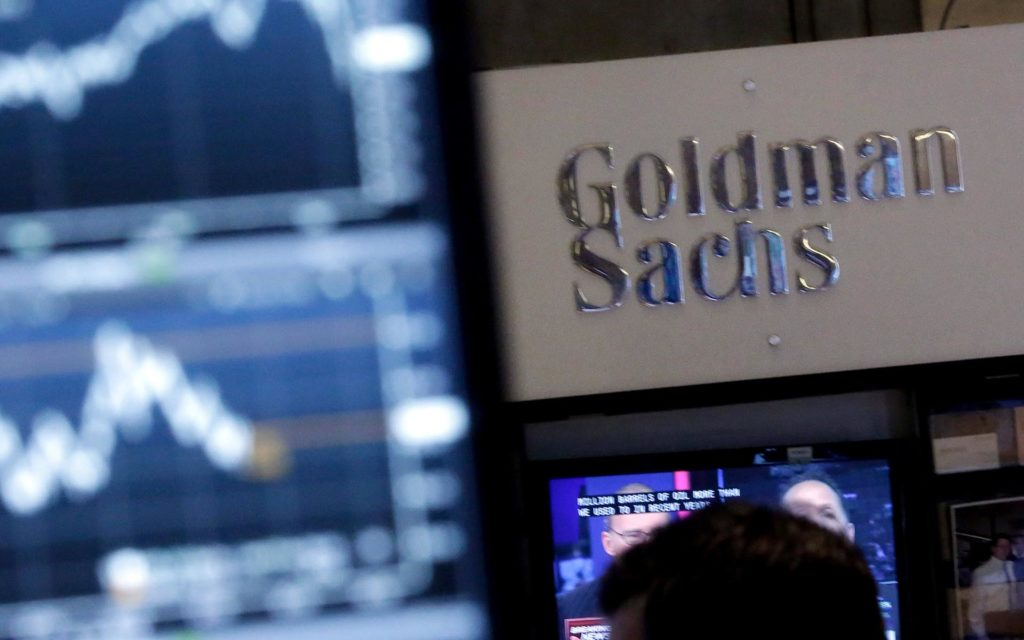Bloomberg was one of the first outlets to report last December how Goldman was said to be setting up a cryptocurrency trading desk.