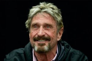 John McAfee: Bitcoin and Blockchain Advocate